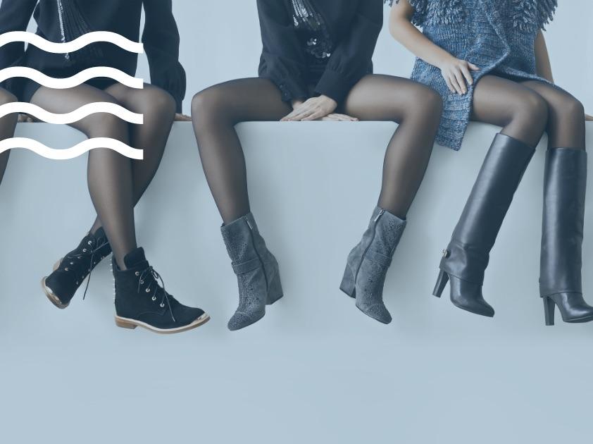 Καθαριστήριο παπουτσιών, παπούτσια