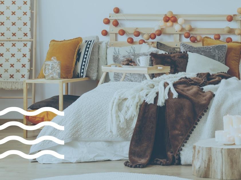 Κουβέρτες, υπνοδωμάτιο