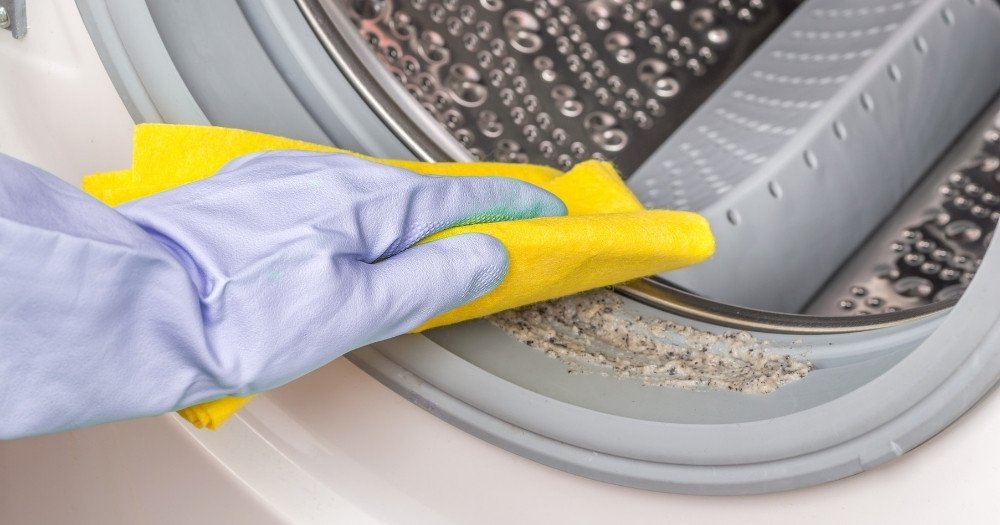 Καθαρισμός λάστιχου πλυντηρίου ρούχων