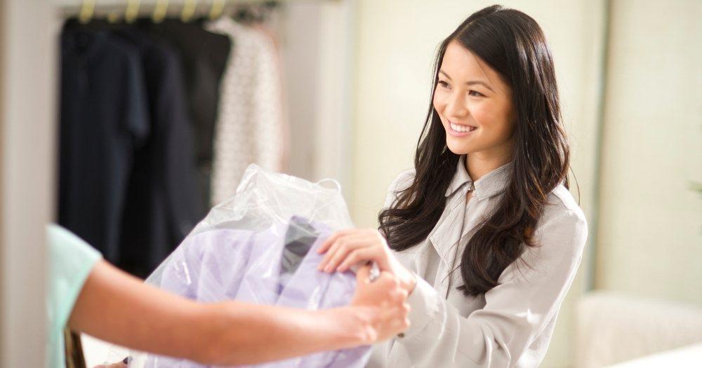 Στεγνοκαθαριστήριο, στεγνό καθάρισμα ρούχων